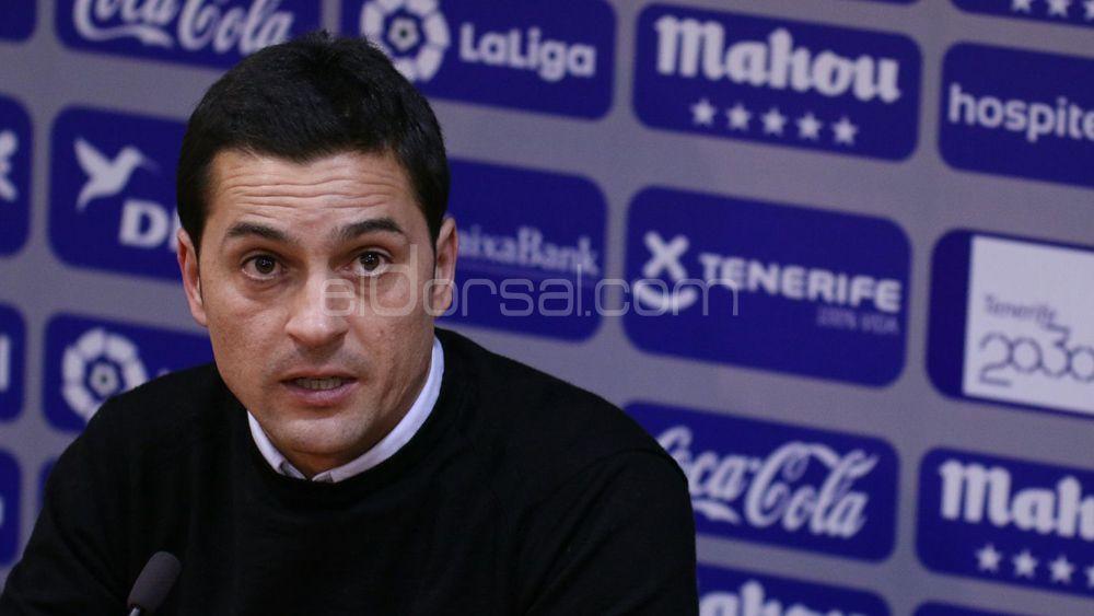 """Francisco: """"El CD Tenerife – CD Lugo se pudo jugar ayer perfectamente"""""""