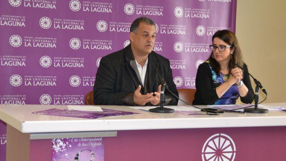 """José Alberto Díaz: """"La Laguna no es solo cuna del deporte en Canarias sino referente en deporte femenino"""""""