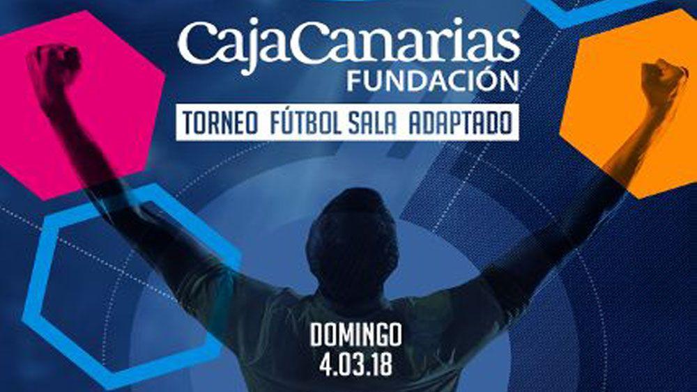 """Este domingo se celebra el torneo de fútbol sala adaptado """"Fundación CajaCanarias"""""""
