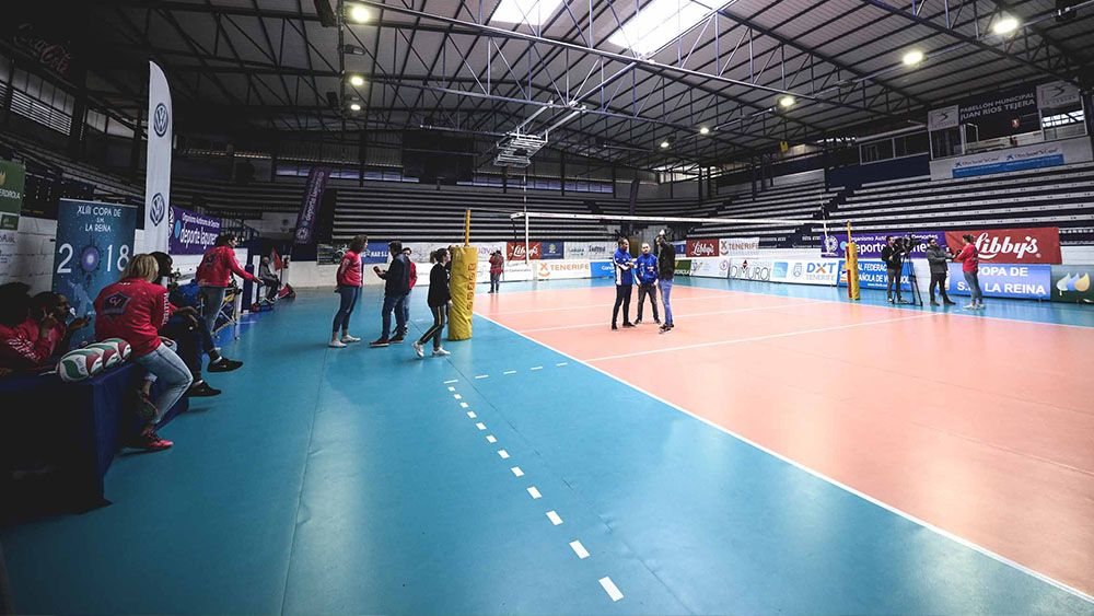 Tenerife, capital del voleibol español durante este fin de semana con la Copa de la Reina