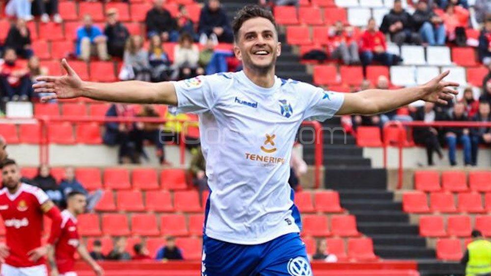 Los goles de Villar para la victoria del CD Tenerife en Tarragona