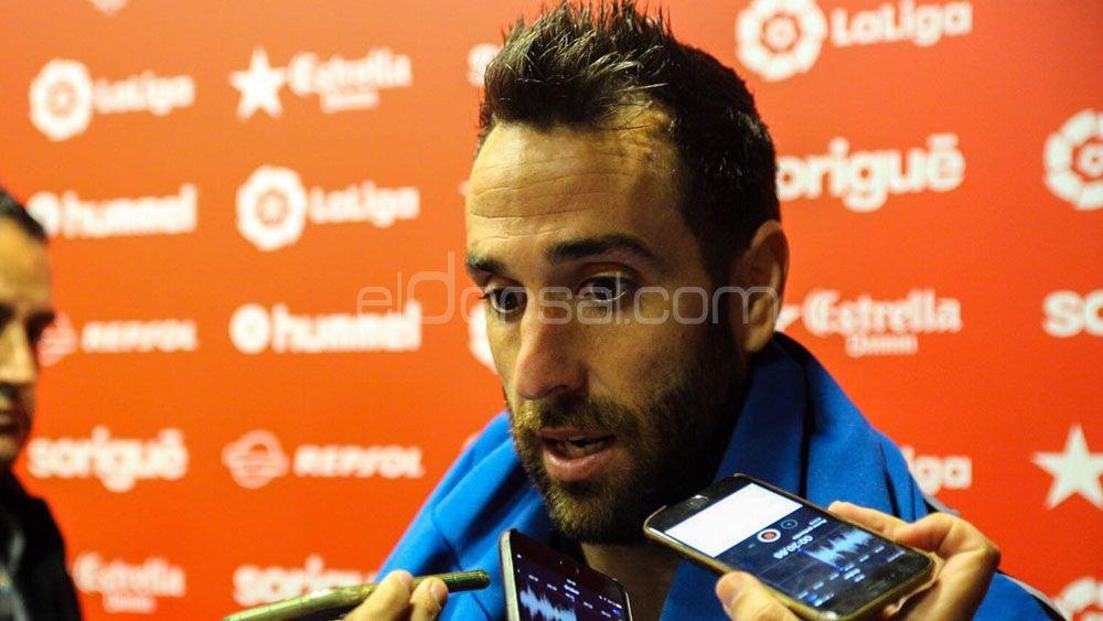 Carlos Ruiz y Bryan Acosta, con la mente ya en el CD Tenerife – Real Oviedo