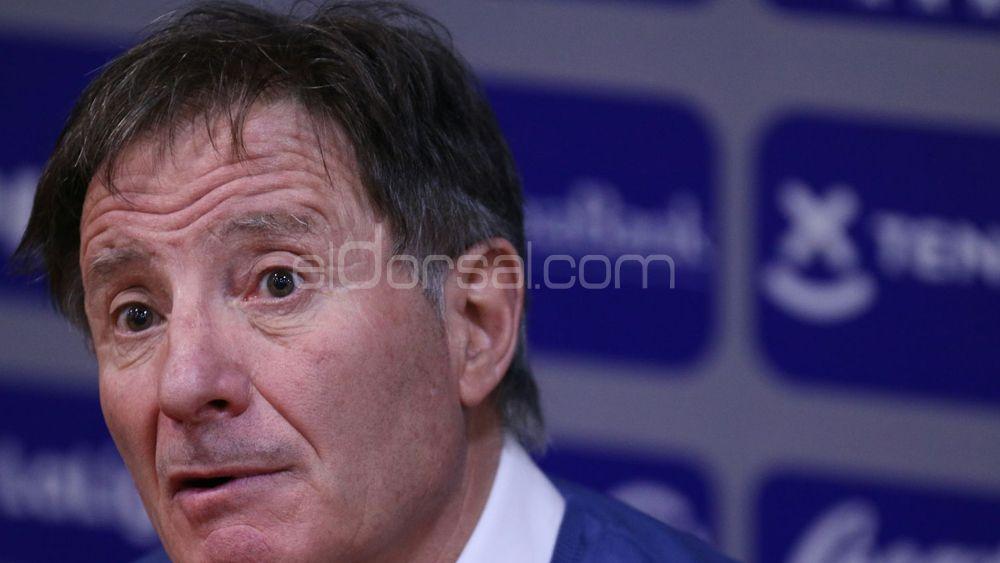 """Anquela: """"Hoy hemos visto a un equipo de playoff, el CD Tenerife"""""""