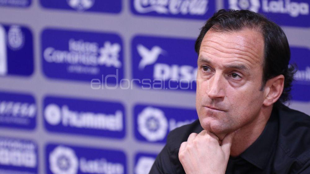 """Etxeberría: """"Estoy contento porque el CD Tenerife ha hecho un partido muy completo"""""""