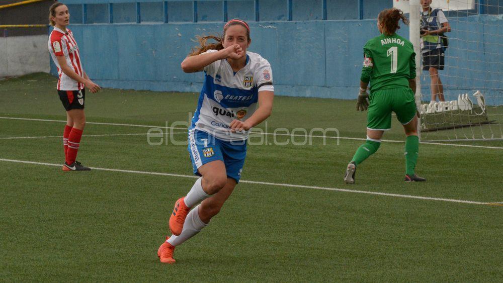 Las jugadoras de la UDG Tenerife, pletóricas tras golear al Athletic de Bilbao