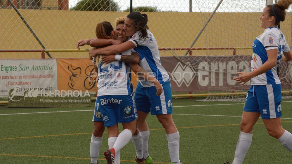 Así fue el festival goleador de la UDG Tenerife ante el Athletic de Bilbao