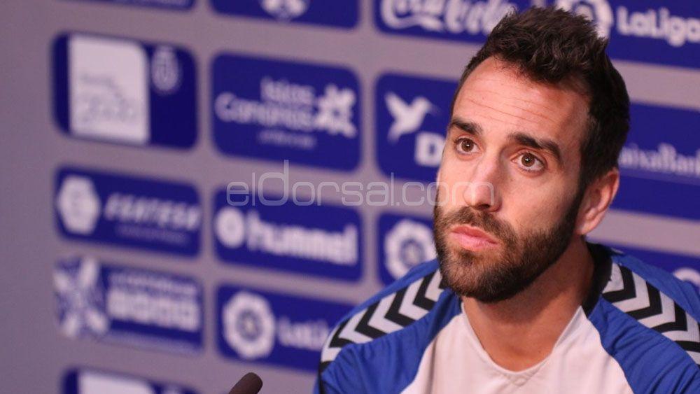"""Carlos Ruiz: """"El CD Tenerife llega en buen momento a El Sadar, es un partido importante"""""""