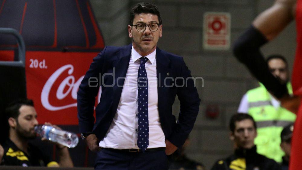 """Katsikaris: """"Este es un golpe duro para Iberostar Tenerife, toca pensar en luchar por el playoff"""""""