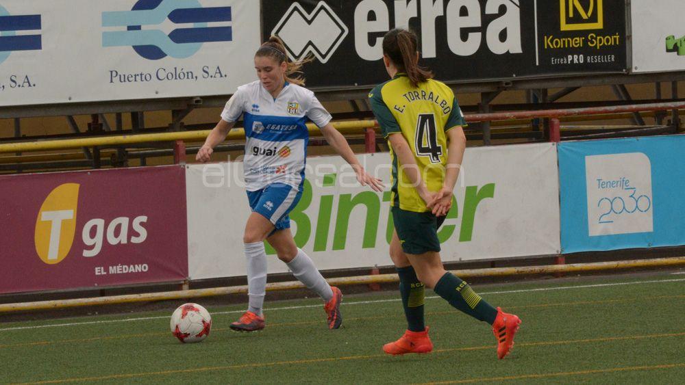 María Estella disputará su tercera Copa de la Reina consecutiva con la UDG Tenerife