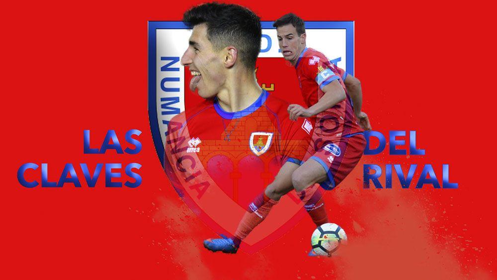 Las claves del próximo rival del CD Tenerife, el CD Numancia