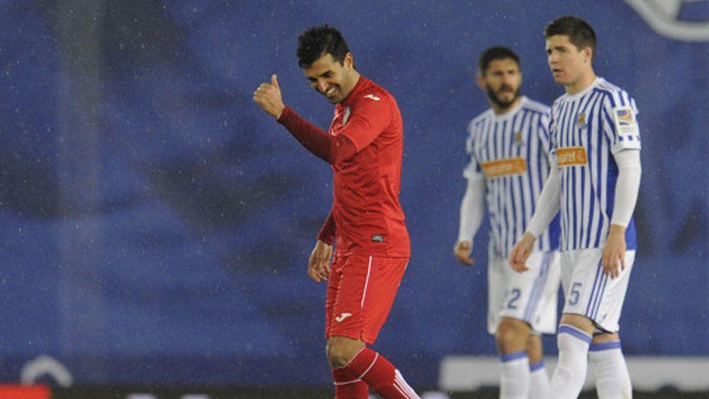 Ángel vuelve a marcar con el Getafe en Liga… ¡Y ya lleva 12 goles!