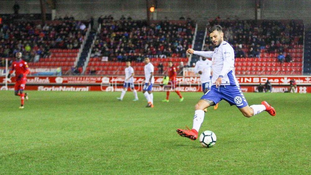 Tayron y Jorge Sáenz confían en las posibilidades del CD Tenerife, a pesar de la derrota