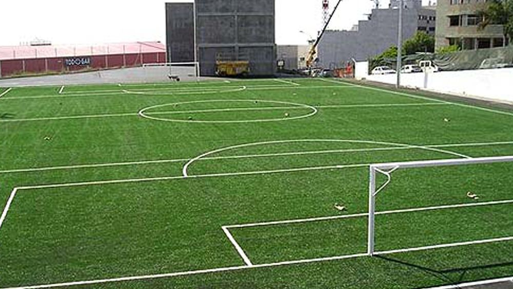 Dos equipos prebenjamines de Tenerife dan ejemplo con un doble pasillo
