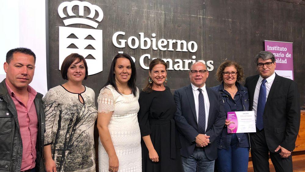 La Federación de Lucha Canaria, premiada por el Instituto Canario de Igualdad