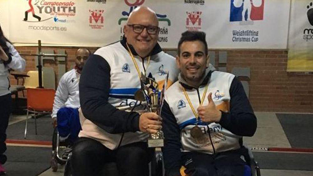Carlos Correa y Airán Fernández, listos para el Campeonato de España de 'Powerliftin'