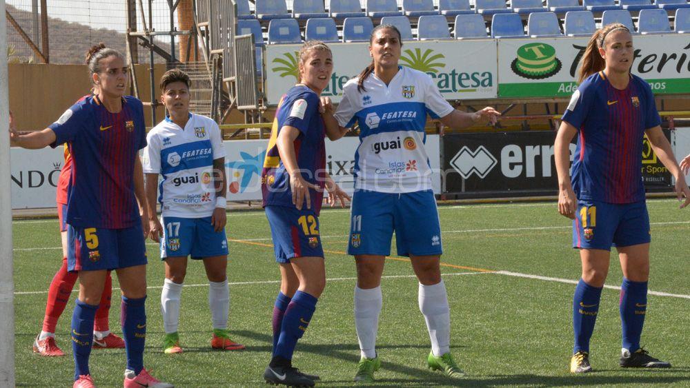 La UDG Tenerife, sin nada que perder ante el FC Barcelona