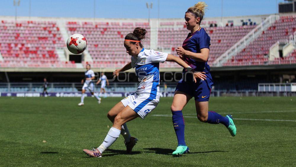 La UDG Tenerife cae con honor ante el poderoso FC Barcelona