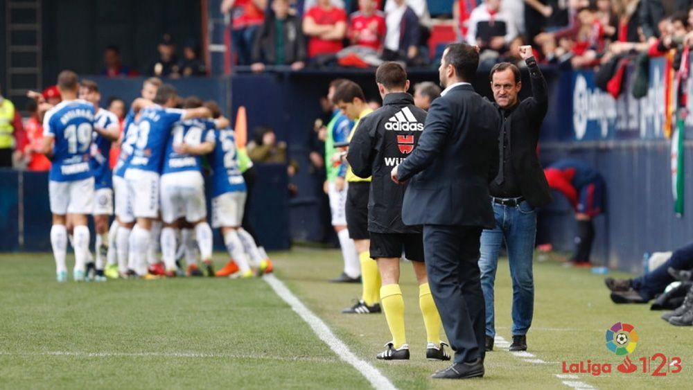 """Etxeberría: """"Ésta es una victoria de prestigio para el CD Tenerife"""""""