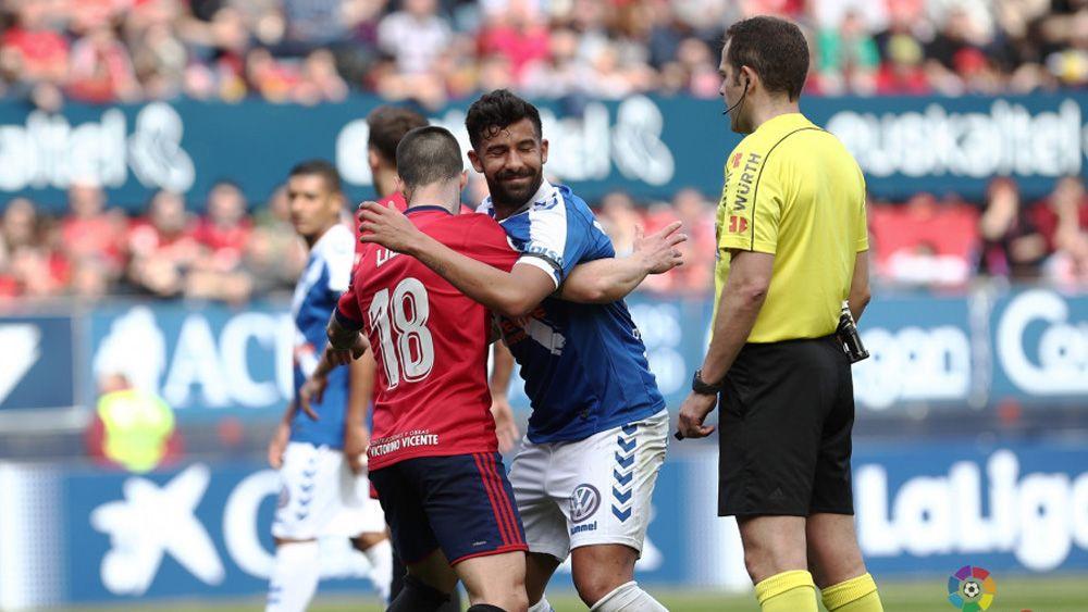 """Alberto: """"Fue un partido serio y controlado por parte del CD Tenerife"""""""