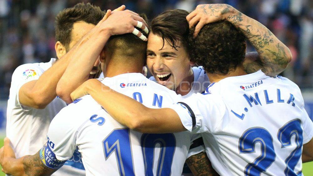 Los goles de Mula y Malbasic para otro triunfo del CD Tenerife