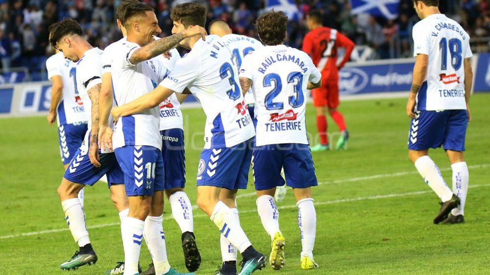El CD Tenerife, a solo dos puntos del playoff de ascenso