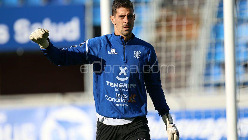 Dani Hernández, el mejor del CD Tenerife para la afición