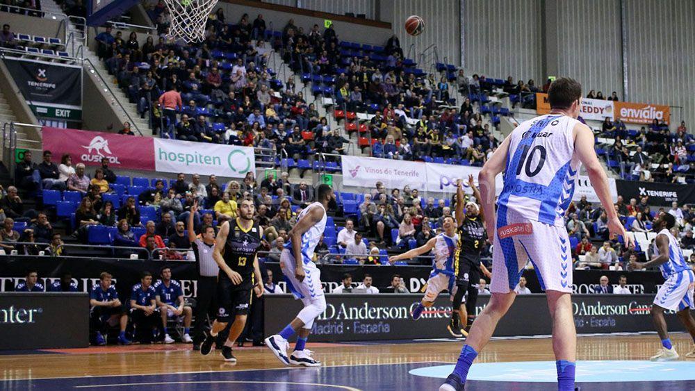 Los errores del Iberostar Tenerife para caer ante el Gipuzkoa Basket