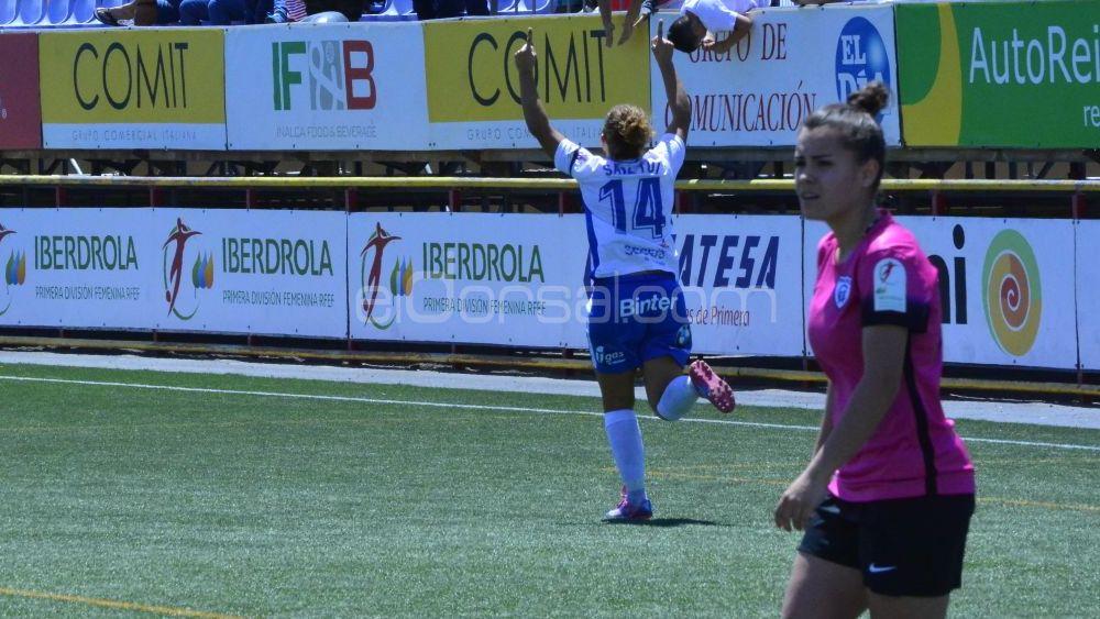 Importante triunfo de la UDG Tenerife para colocarse a tres puntos del tercer puesto