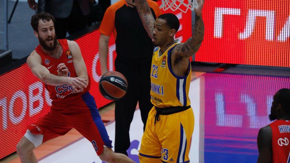 Sergio Rodríguez y el CSKA, a un paso de la 'Final Four' de la Euroliga