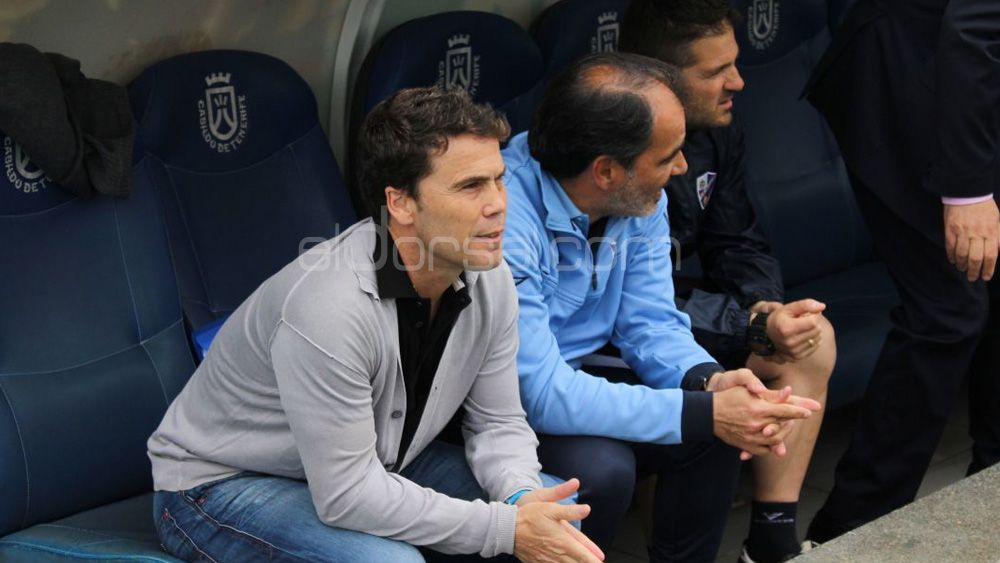 """Rubi: """"Por el error de una persona, no puede haber ningún reproche a la afición del CD Tenerife"""""""