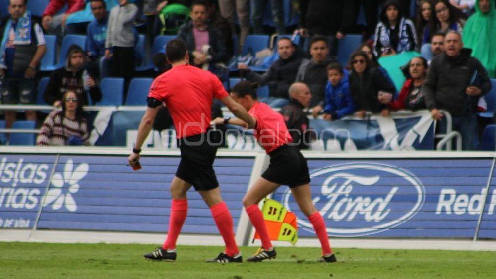 Un energúmeno agrede a la jueza de línea número 2 del CD Tenerife – SD Huesca