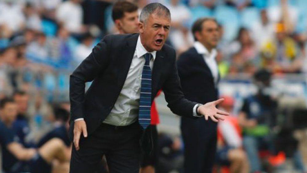 Lucas Alcaraz deja de ser entrenador de la UD Almería