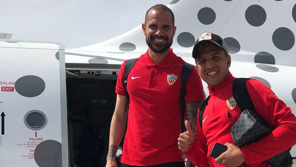 """Nano, jugador del Almería: """"Cuando vas a Canarias, parece otro mundo"""""""