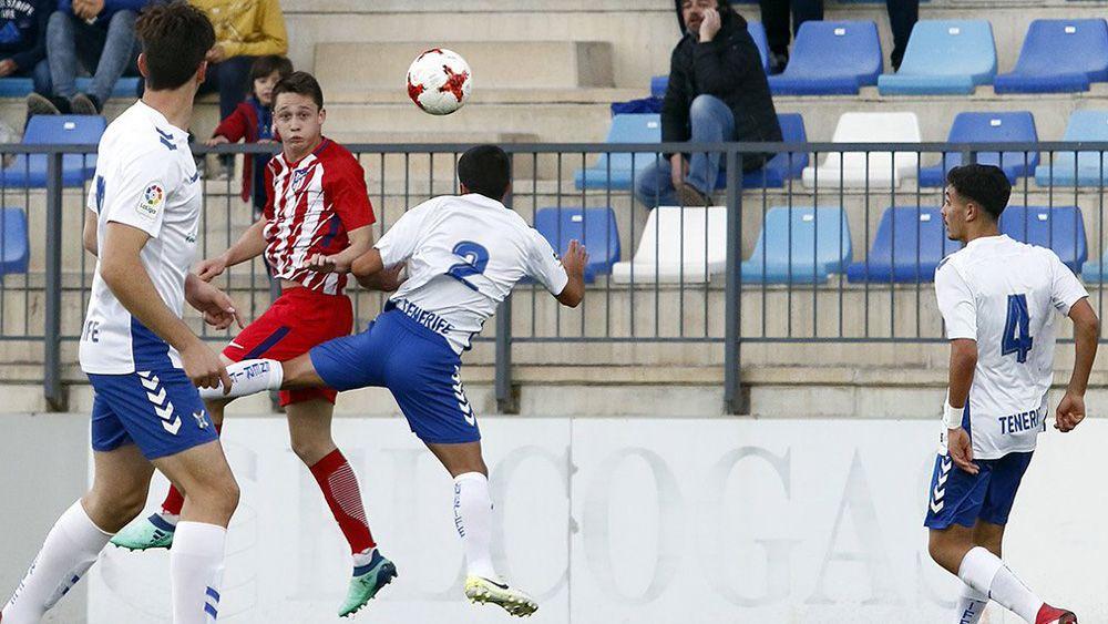 El CD Tenerife juvenil cae con honor en semifinales de la Copa de Campeones