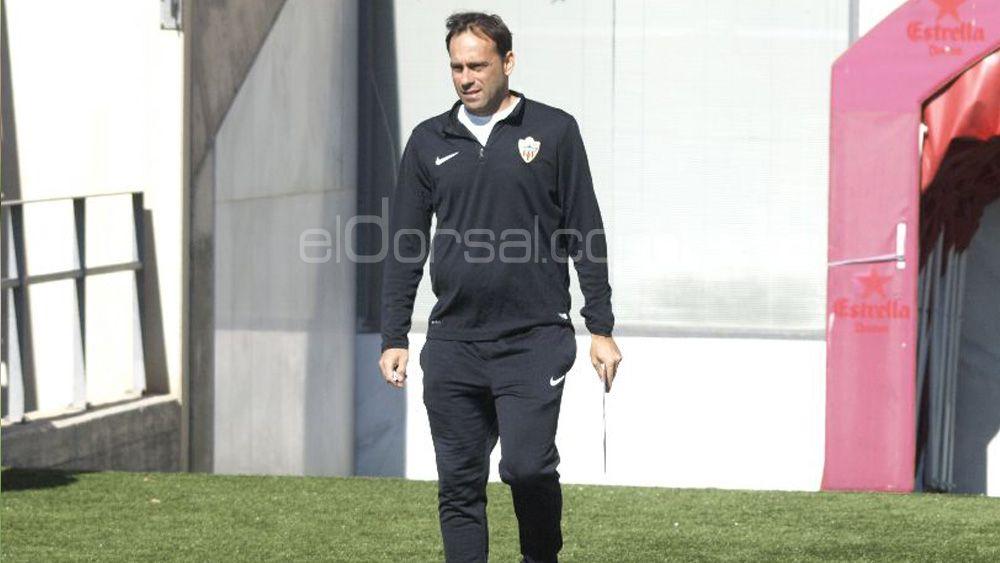 """Fran Fernández: """"Para ganar al CD Tenerife tenemos que ofrecer nuestro mejor nivel"""""""