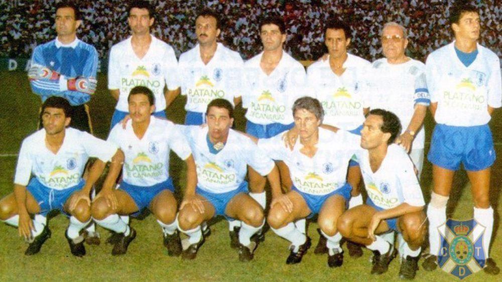 25 años sin Rommel Fernández, leyenda del CD Tenerife que sigue viva