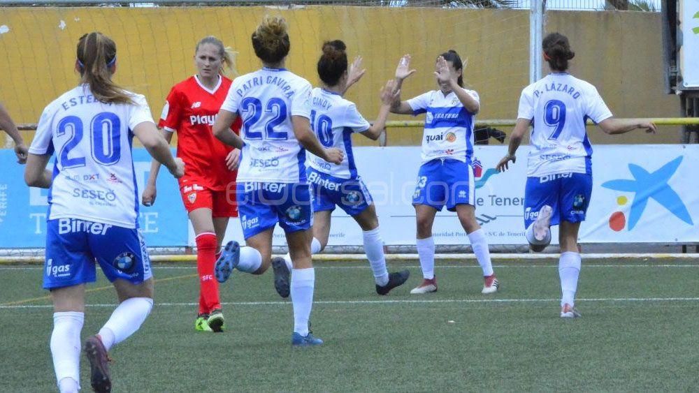 La UDG Tenerife supera al Sevilla FC y asegura la cuarta posición