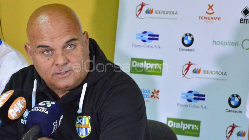 """Ayala: """"La UDG Tenerife sabía que iba a sufrir, en una gran jugada nos hemos llevado la victoria"""""""