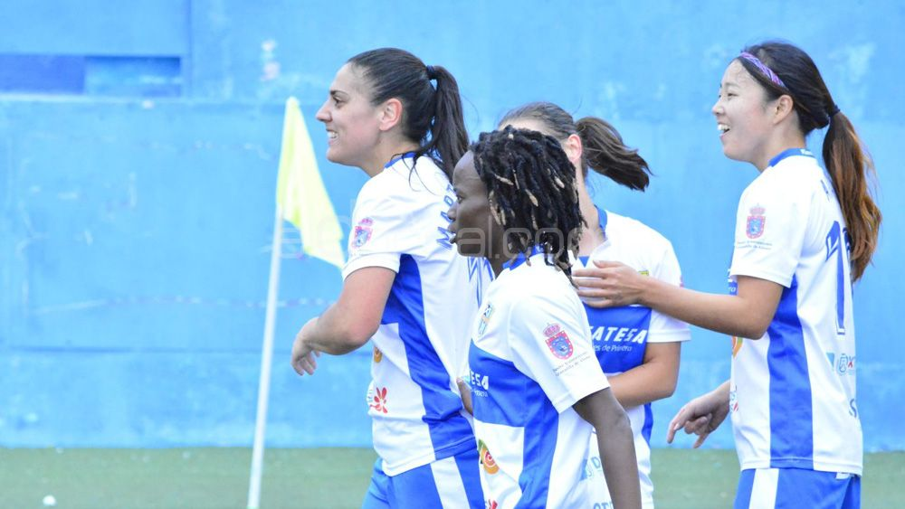 Éxito rotundo de las guerreras de la UDG Tenerife, y van a por más