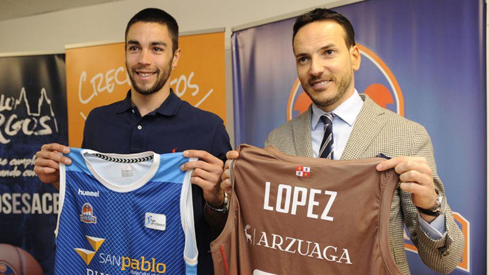 El tinerfeño Álex López renueva con el San Pablo Burgos por tres temporadas