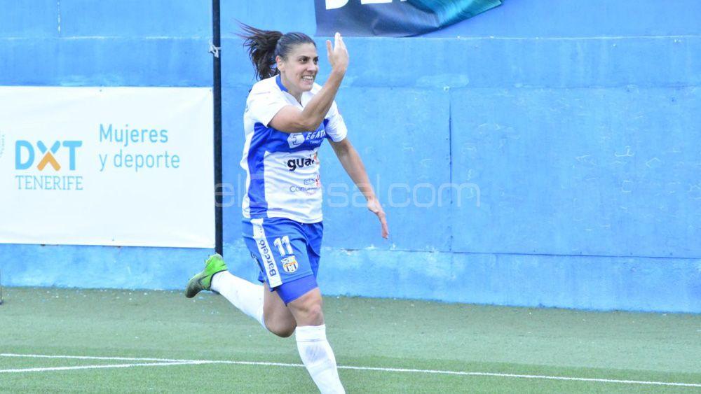 La ariete de la UDG Tenerife Cristina Martín-Prieto, elegida mejor jugadora de la jornada