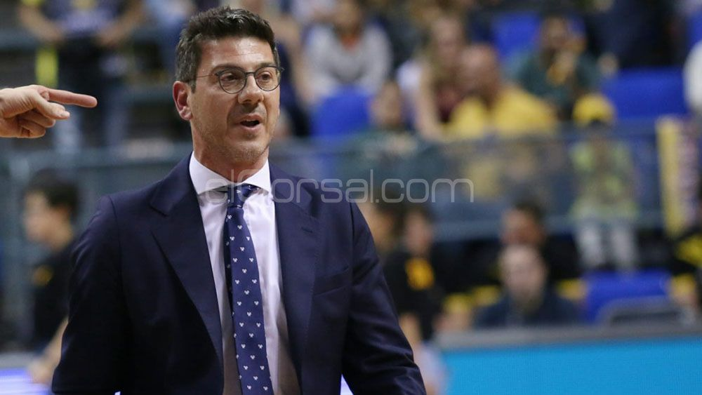 "Katsikaris: ""Sabíamos que iba a ser un partido duro y largo ante Obradoiro"""