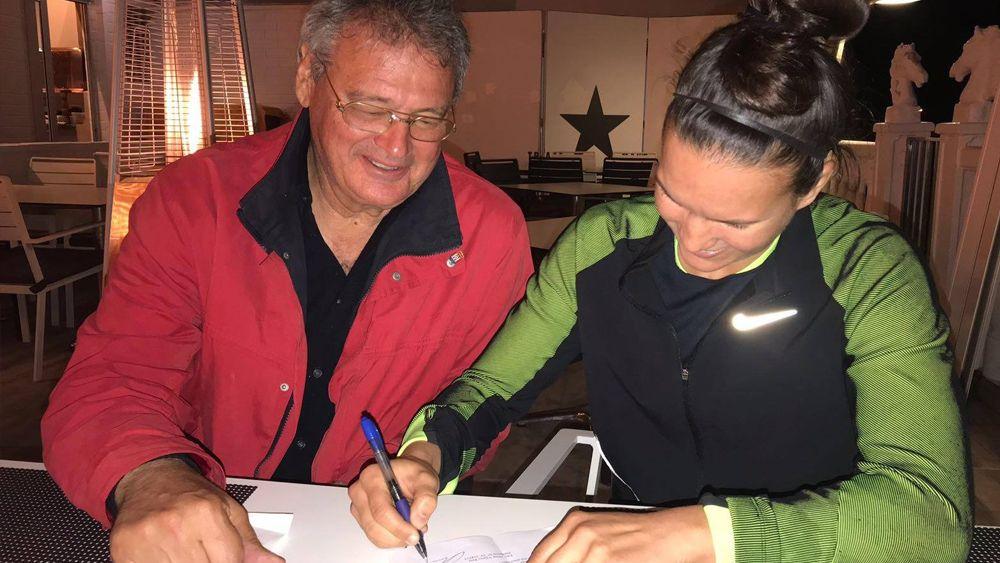 Aline Reis, nuevo fichaje de la UDG Tenerife