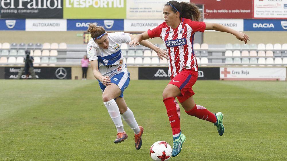 La UDG Tenerife roza una histórica gesta ante el Atlético de Madrid