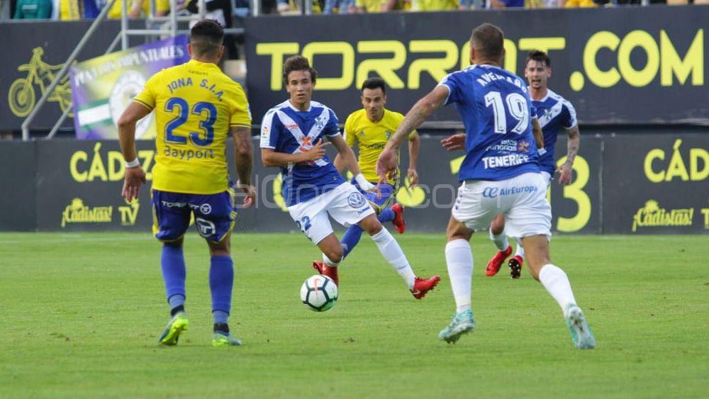 Así vimos el empate del CD Tenerife en Cádiz