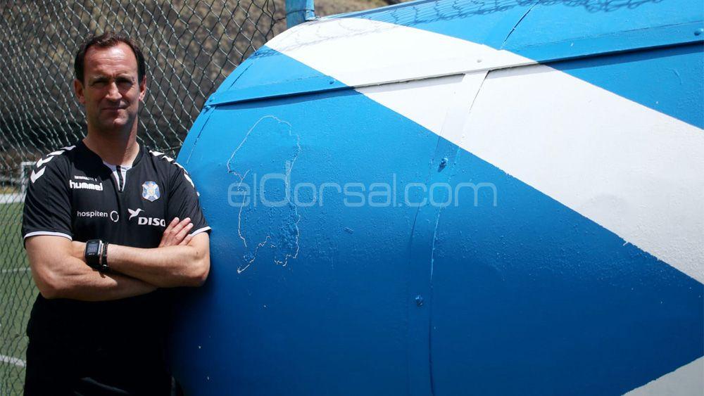 La última entrevista de Joseba Etxeberría, antes de renovar con el CD Tenerife