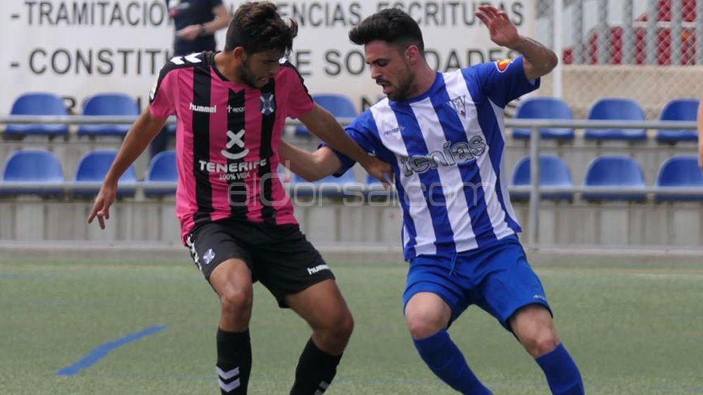 El CD Tenerife B se complica el ascenso al estrellarse contra el muro de la SD Ejea