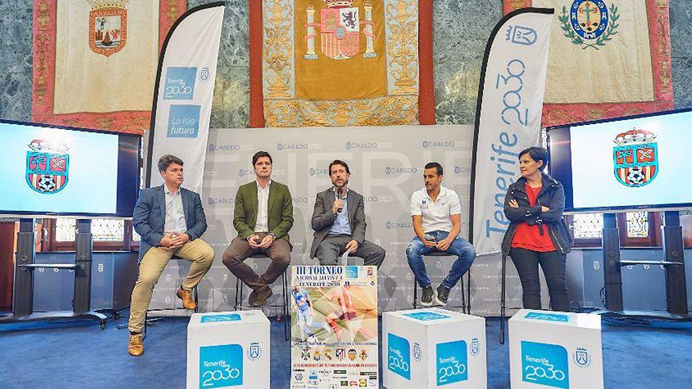 El III Torneo Nacional Alevín Tenerife 2030-Fundación Pedro Rodríguez Ledesma reúne a los mejores equipos