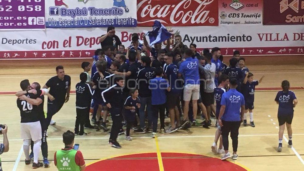 El CD Salesianos es nuevo equipo de Segunda División