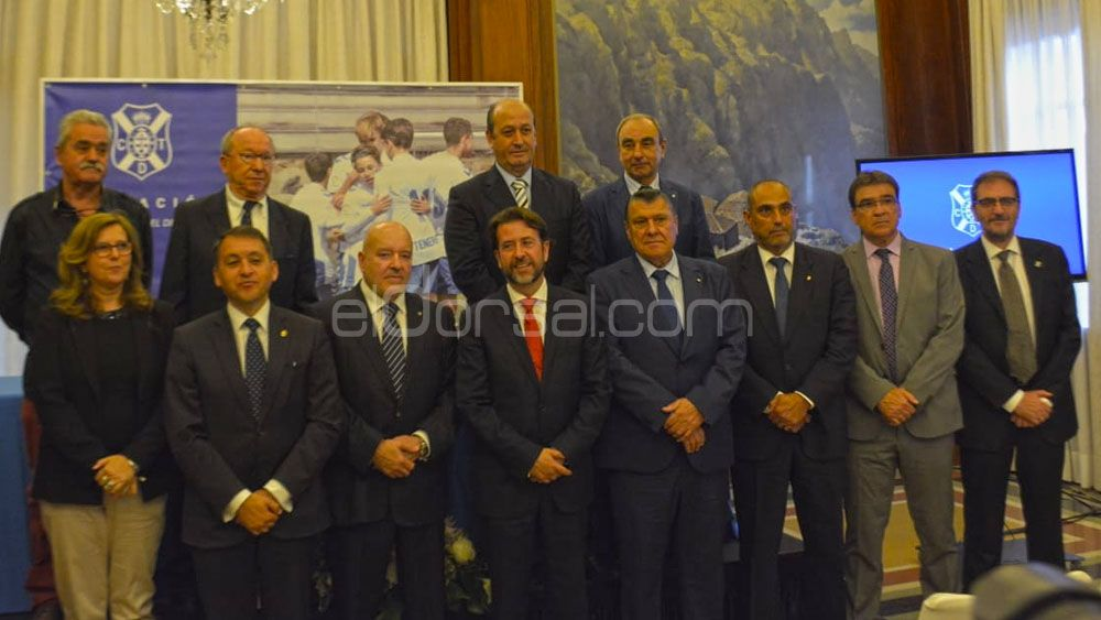 Presentada la Fundación Canaria del CD Tenerife
